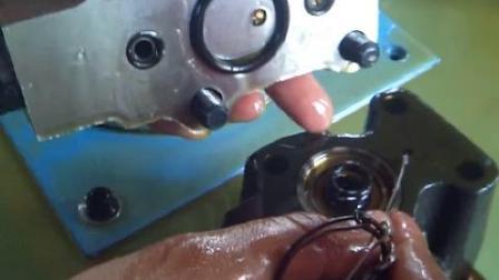豫兴液压比例阀安全阀下面油道工作情况 (1)