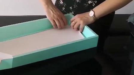 月饼盒折叠视频