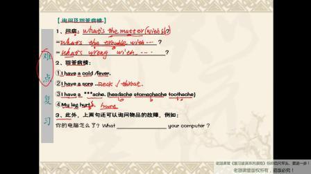 八下英语复习课unit1 课时1单词、语法、短语复习
