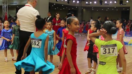 中国广西第七届国际标准舞精英赛《恰恰恰》半决赛 张粞婷  园林艺术培训中心