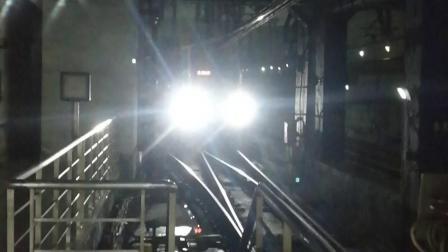 上海地铁8号线首辆泥鳅三世元老新车08067号车市光路终点站折返进站开往沈杜公路方向 拍摄时间:20190813