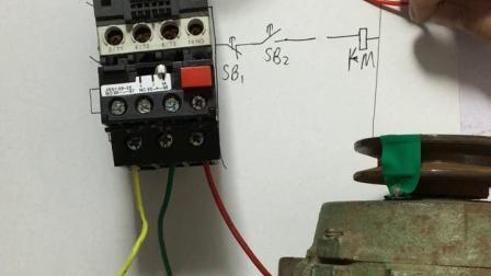 电工才哥讲解热过载保护电机控制线