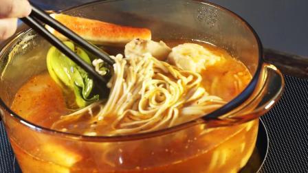 云南特产过桥米线 麻辣风味米线粉3包料 方便真空速食家用350g
