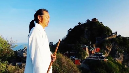 外国徒弟记录师父日常练功,用心学习武当太极拳,武当顾师毅道长