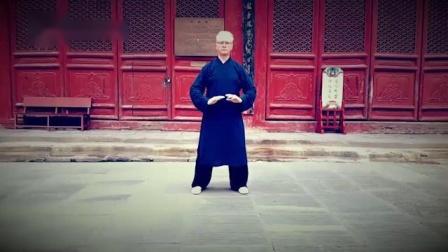 外国教授退休后坚持养生,习练武当太极十三势让他精神焕发