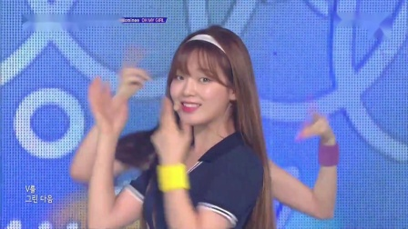 190813 Oh My Girl -《BUNGEE(Fall in Love)》@ The Show