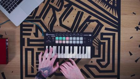 Novation // Launchkey Mini MIDI键盘控制器 演示