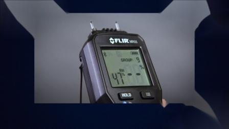 将MR55连接到移动设备,以远程获取读数