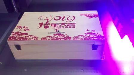越达彩印YD-F2513R5-40 平板打印机加高款打印木盒 精度高 稳定性好 打印效果佳