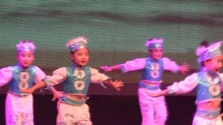 莱西市树蕊艺术培训学校 2019月湖文化节专场演出 舞蹈《马蹄哒哒》