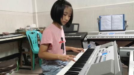 广东省音乐考级之电子琴六级乐曲《马刀舞》(郑叶子)20190814