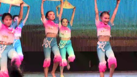 莱西市树蕊艺术培训学校 2019月湖文化节专场演出 舞蹈《三沙海娃》