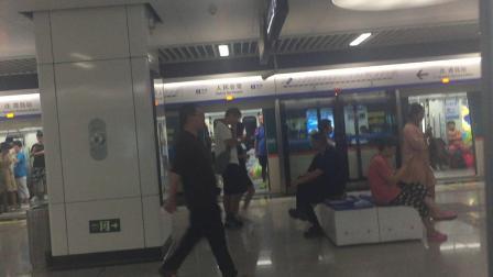 青岛地铁3号线人民会堂-汇泉广场