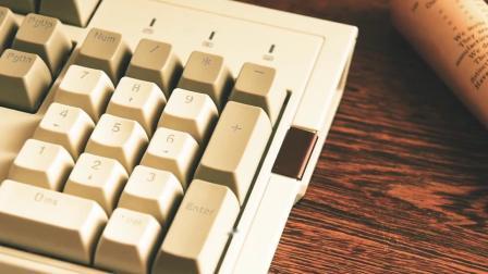 黑爵AK510复古机械键盘红轴104键打字机樱桃cherry机戒茶轴黑轴青轴RGB背光cheery双色pbt台式电脑电竞游戏