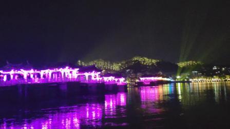 广济桥灯光秀