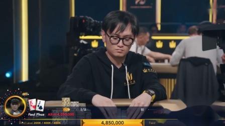 德州扑克:2019传奇扑克英国站10万英镑主赛事FT06