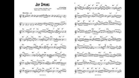 【爵士練習】小號:轉錄Tom Harrell - Joy Spring