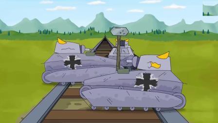 """坦克世界游戏这不是""""螳臂挡车""""?坦克与火车相撞谁胜"""