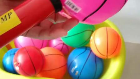 儿童玩具批发宝宝小皮球加厚篮球充气皮球幼儿园专用拍拍球玩具球