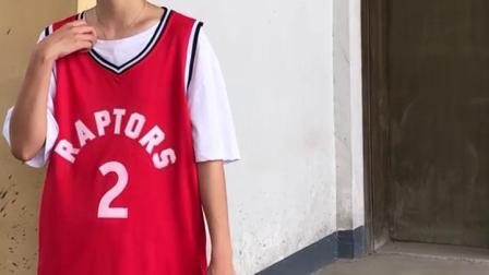 伦纳德篮球服套装女猛龙队球衣洛瑞西亚卡姆定製队服篮球比赛球服