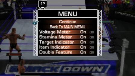 wwe单机游戏 玩了一局单机游戏WWE