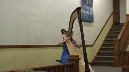 皮埃里克•胡第 : 為豎琴所作的奏鳴曲