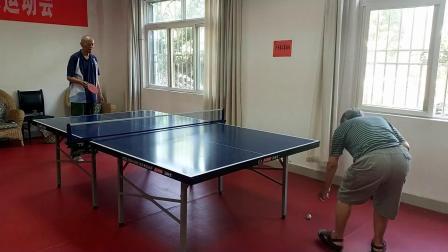 退休老干部(乒乓球)活动