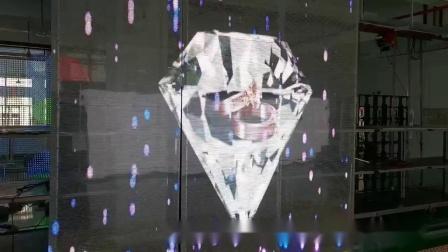 水晶LED透明屏视频 极致轻薄通透Tfree系列