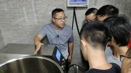 福州虎哥自酿啤酒培训关于三罐三器美式三桶的操作界面控制面板讲解