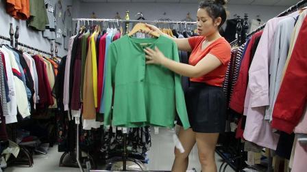 2019年最新精品女装批发服装批发时尚服饰时尚女士秋款长袖打底30件起批,视频款可挑款零售混批