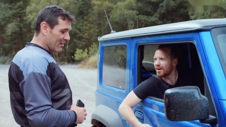 Off-Road Race  Suzuki Jimny vs Triumph Scrambler
