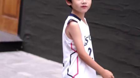 男童背心套装2019夏款中大童洋派运动夏装儿童无袖速乾衣篮球服