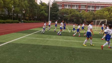 快乐足球——记上海市长宁区校园足球联盟精英一次暑期训练