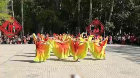 """五家渠市第六届广场舞大赛""""轻舞飞扬""""舞蹈队优秀奖""""为祖国干杯"""""""