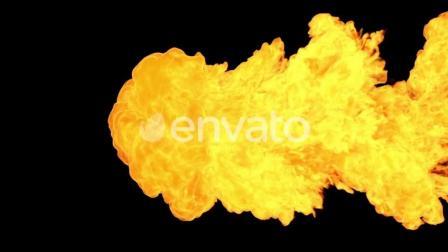 46个火焰燃烧视频素材 有透明通道