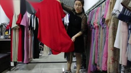 2019年最新精品女装批发服装批发时尚服饰时尚女士新款夏装小连衣裙走份20件一份,视频款可挑款零售混批