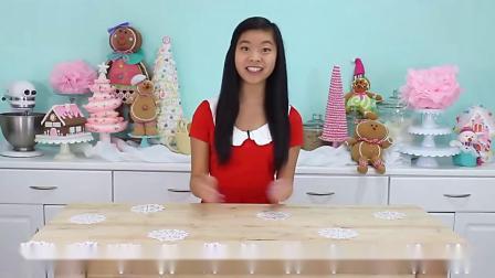 圣诞树杯子蛋糕制作教程