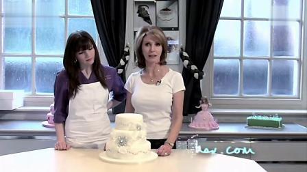 简单漂亮的三层婚礼蛋糕制作教程