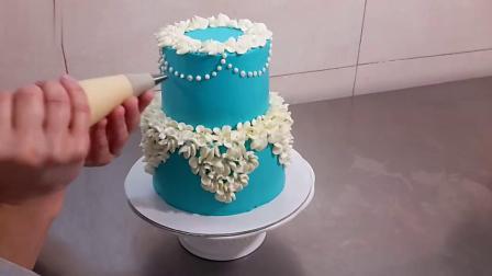 奶油蛋糕装饰裱花制作教程