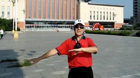 电装65级毕业50年聚会-吉林站东广场快闪《天边》