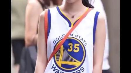 篮球背心女bf风宽鬆外穿库裏球衣男潮街头嘻哈勇士队定製球服无袖