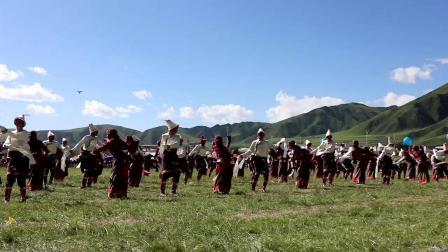 甘南州玛曲县锅庄舞代表队