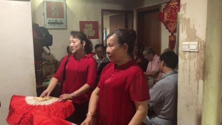 闽剧舞蹈《牡丹亭》,郑榕、林依金表演,主胡陈国白,司鼓吴能志。