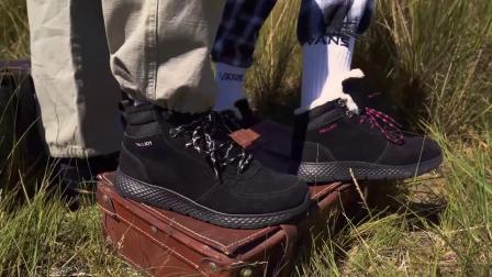 伯希和户外雪地靴男女冬季加绒加厚中筒棉鞋轻便防滑厚底保暖短靴