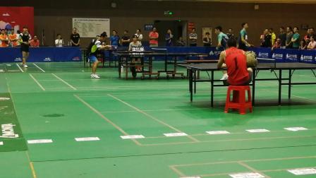 第二届粤港澳大湾区乒乓球比赛东莞赛区男子团体甲组决赛 张超vs林一森