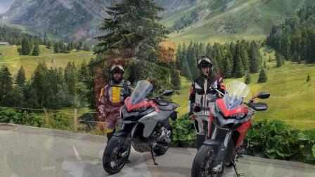 Ducati Testfahrt