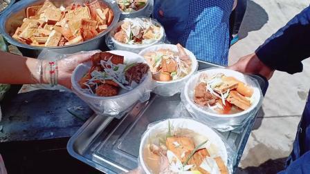 兰州本土特色文化白事碗儿菜八大碗,有多少不知道。
