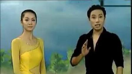 杨艺 交谊舞中三步教学,很详细、全面的讲解
