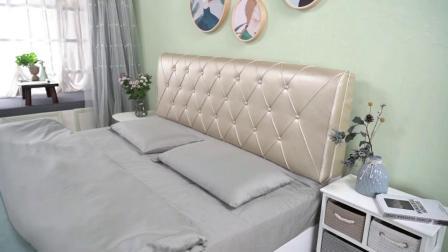 靠枕牀头靠垫大靠背双人牀上护腰牀头板软包卧室欧式 榻榻米定做