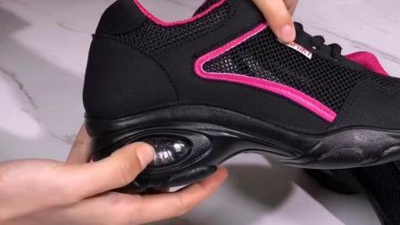 运动鞋女鞋厚底网面透气跑步休闲鞋防滑软底气垫舞蹈鞋老北京布鞋